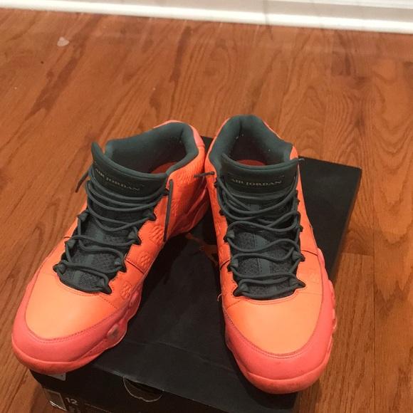 Air Jordan Retro 9 Low Bright Mango